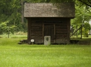 Made of hand-hewn logs, the Warthen jail in Washington County has been restored and is considered the oldest log jail in Georgia.