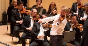 The world-renowned Atlanta Symphony Orchestra performs at Atlanta Symphony Hall in the Woodruff Arts Center.