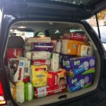 Photo of a deposit to the Diaper Bank of Greater Atlanta.