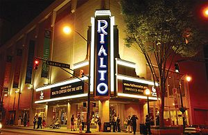 Operated by Georgia State University, the Rialto Center for the Arts features theater, dance, and music performances in downtown Atlanta.