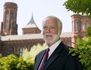 Georgian Wayne Clough is the secretary of the Smithsonian Institution and an advocate of the humanities.