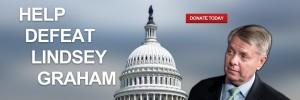 Sen. Lindsey Graham has signed bi-partisan transportation bills despite grumbling at home over his conservative credentials. Credit: defeatlindseygraham.org