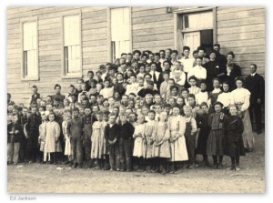 Georgia's first compulsory school attendance law was signed by Governor Nathaniel Harris. Photo courtesy of Ed Jackson