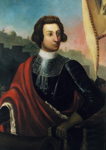 Portrait of James Oglethorpe in 1718. Courtesy Georgia Historical Society