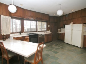 The kitchen - basically unaltered in 50 years