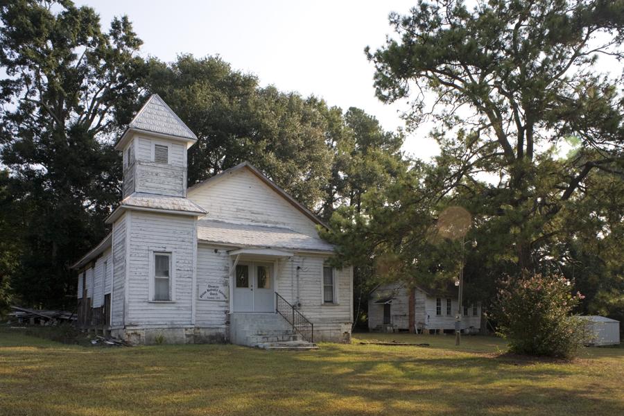 Ebenezer AME Church, Grady County. Photo courtesy of Jeanne Cyriaque