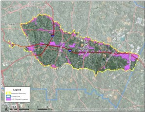 The proposed East Metro CID would stretch from Decatur to the Mall at Stonecrest. Credit: eastmetrocid.com