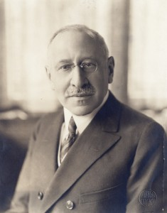 Philanthropist Julius Rosenwald helped build rural schools for African Americans with an emphasis on state-of-the-art school architecture. Credit: The University of Chicago Library