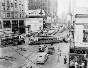 The Olympia building (right) is to be restored to its grandeur of the days its opening stood as a beacon of hope as the Great Depression ended. Credit: 24.media.tumblr.com