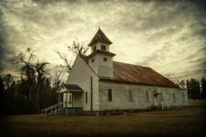 St. Paul CME Church, Hancock County. Photograph courtesy of Scott Farrar and Historic Rural Churches of Georgia