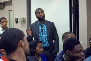 Derrick Bryan,  Morehouse sociology professor.
