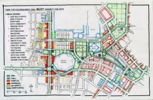 Alternative proposal on alignment of MLK Jr. Drive by community leaders and Michael Dobbins