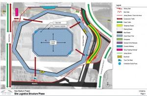 Latest Atlanta Falcons' plan for alignment of MLK Drive around new stadium