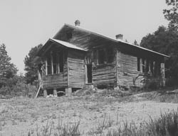 Noble Hill School, in Bartow County, pictured before restoration efforts, which were led by Susie Wheeler.