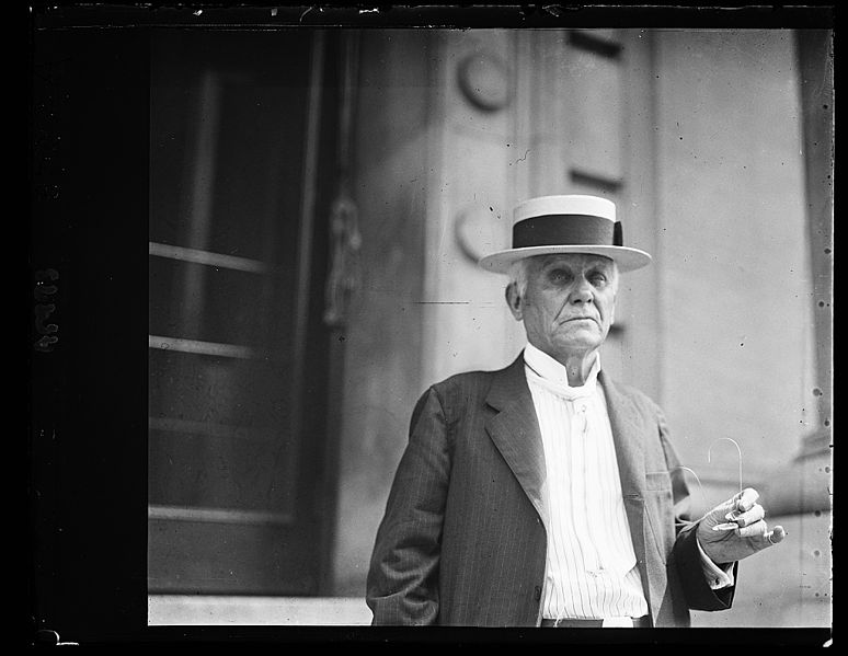 Asa Candler founded the Coca-Cola Company. Emory University is among the many recipients of his philanthropy. Credit: Library of Congress