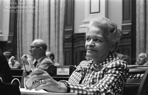 Grace Towns Hamilton was the first African American woman to be elected to the Georgia legislature. Credit: Atlanta Photo.com