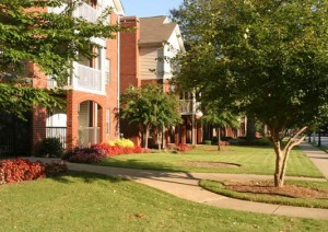 Centennial Place was built on the site of the first public housing project in the United States, Techwood Homes. The complex is now managed by Integral, a development partner of the Atlanta Housing Authority. Credit: AHA
