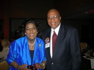 Ingrid Saunders Jones and Michael Coleman