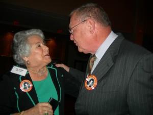 Elaine Alexander and George Berry