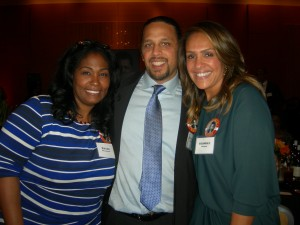 Wendy and Maynard H. Jackson III with sister-in-law and sister – Brooke Jackson Edmond