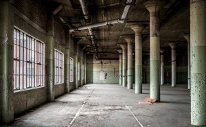 The renovation of an old Sears warehouse into the mixed use Ponce City Market represents the cradle-to-cradle concept associated with the convergence of sustainability issues. Credit: Gail Des Jardins via Flickr