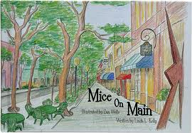 """Cover of book: """"Mice on Main"""""""