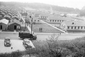 The buildings at Camp Toccoa were built in the 1930s by the WPA and the CCC. Today, only a single structure still stands.