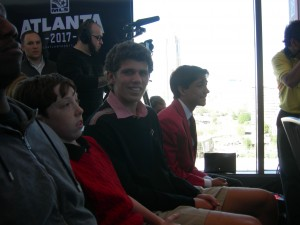 Joshua Blank waiting for official announcement about Atlanta soccer team