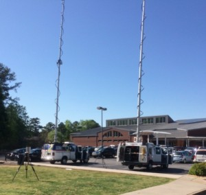 Atlanta police invited the media to report on the search for witnesses to four killings in southwest Atlanta. Police hope the news stories will prompt witnesses to come forward. Credit: David Pendered