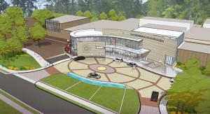Rendering of the transformed Atlanta History Center