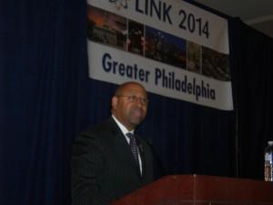 Mayor Nutter addresses Atlanta's LINK group