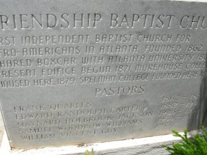The other part of the cornerstone