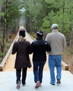 Panola Mountain Trail at Panola Mountain State Park in southeast metro Atlanta