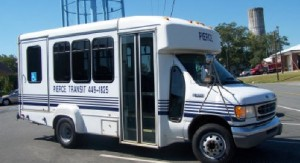 Pierce County already coordinates its transit service to contain costs, which is one way the state hopes to address the rising cost of rural health transit programs. Credit: Pierce County