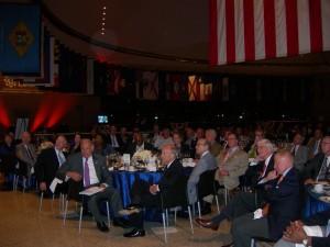Atlanta LINK delegation having dinner at National Constitution Center in Philadelphia