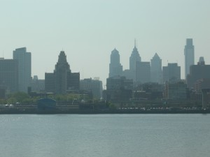 View of Philadelphia from Camden, N.J. (Photos by Maria Saporta)