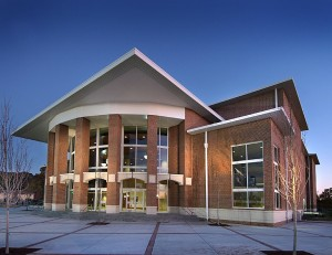 Ray Charles Performing Arts Center on Morehouse College campus (R.L. Brown Architect)