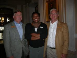 GWCCA Chairman Tim Lowe, GDOT board member Dana Lemon and Roswell Mayor Jere Wood on LINK trip in Philadelphia