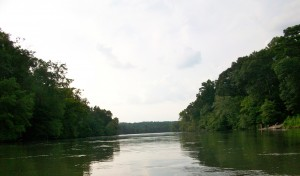 Journalist Tom Baxter is slated to discuss how the political landscape has shaped the natural landscape of the Chattahoochee River. Credit: David Pendered