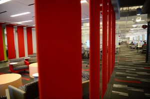 Taking a peak at Coca-Cola's new IT offices downtown (Photos by Byron Small - Atlanta Business Chronicle)