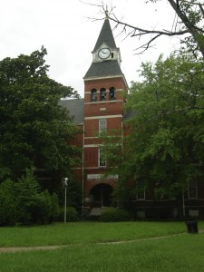 Fountain Hall on the Morris Brown campus would remain as part of the college under the proposed sale to Invest Atlanta and Friendship Baptist Church