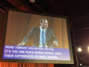 Neil Bush kicks off Points of Light conference
