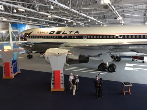 Another view of the Spirit of Delta plane