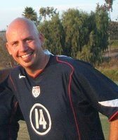 Jon McCullough played for the USA Paralympic Soccer Team in 1996
