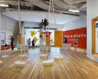 A view of the Human Rights exhibit