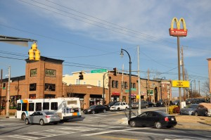 The Westside business district contains vibrant areas including this one at the intersection of Joseph E. Lowery Boulevard and Martin Luther King Jr. Drive, as photographed in January. Credit: Donita Pendered