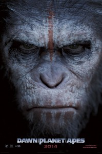 """""""Dawn of the Planet of the Apes"""" movie poster"""