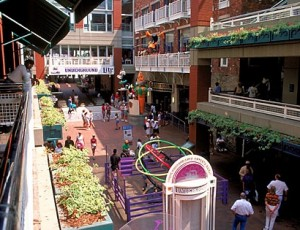 Atlanta is so hopeful someone will buy Underground Atlanta within a year that it has budgeted $1.4 million in proceeds of the sale to fund Invest Atlanta. Credit: Ga. Dept. of Industry, Trade and Tourism, via destination360.com