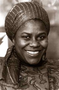Bernice Johnson Reagon, one of the original Freedom Singers. The group formed during the Albany Movement. Credit: Bernice Johnson Reagon.com