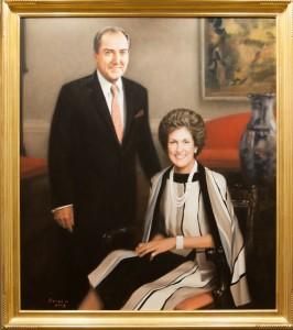 Portrait of Mr. and Mrs. Roberto Goizueta